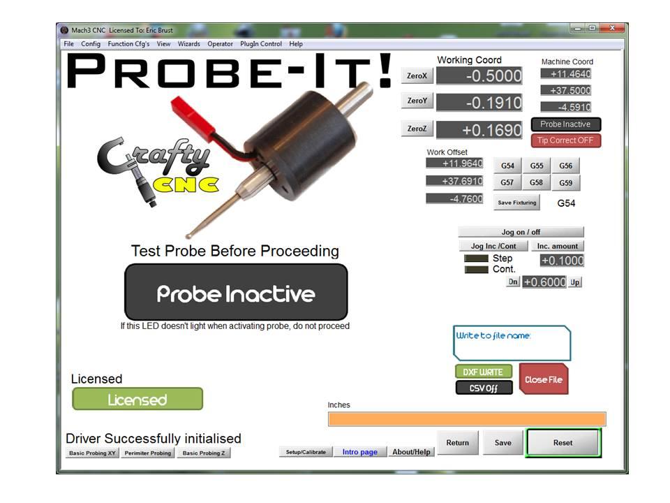 Probe-It! Mach3 Wizard – Crafty CNC