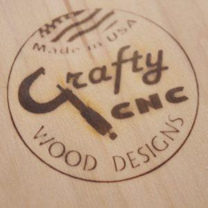 CRAFTYCNCWood Logo